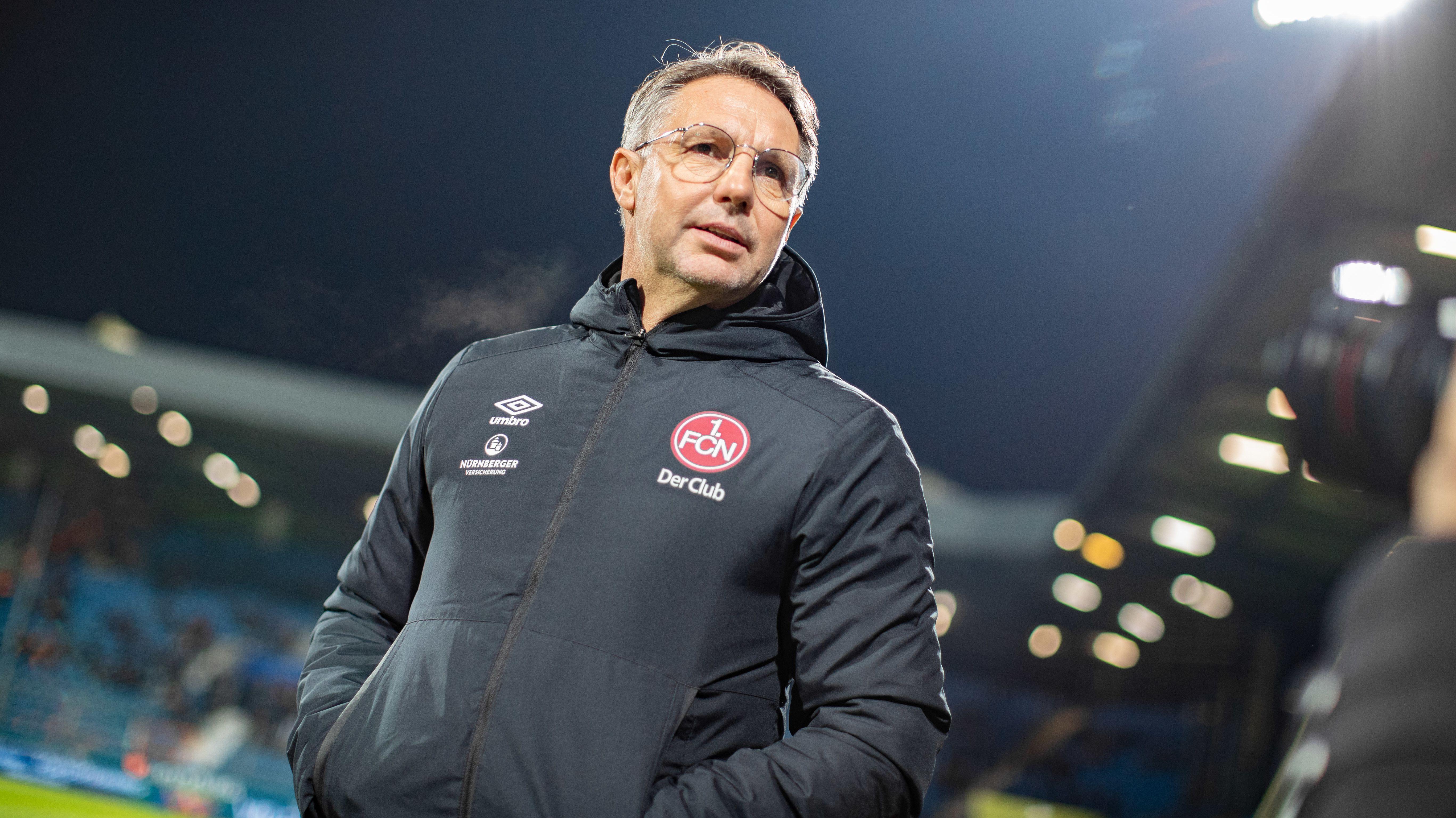 Nürnberg-Trainer Damir Canadi in Bochum