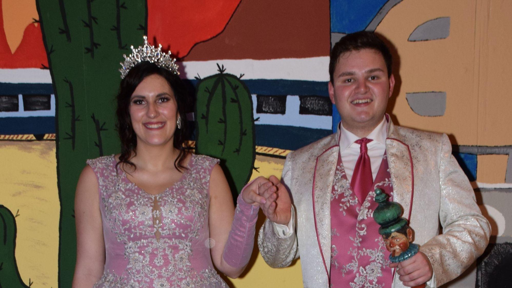 Narrhalla Prinzenpaar 2020: Daniel I. & Amelie I.