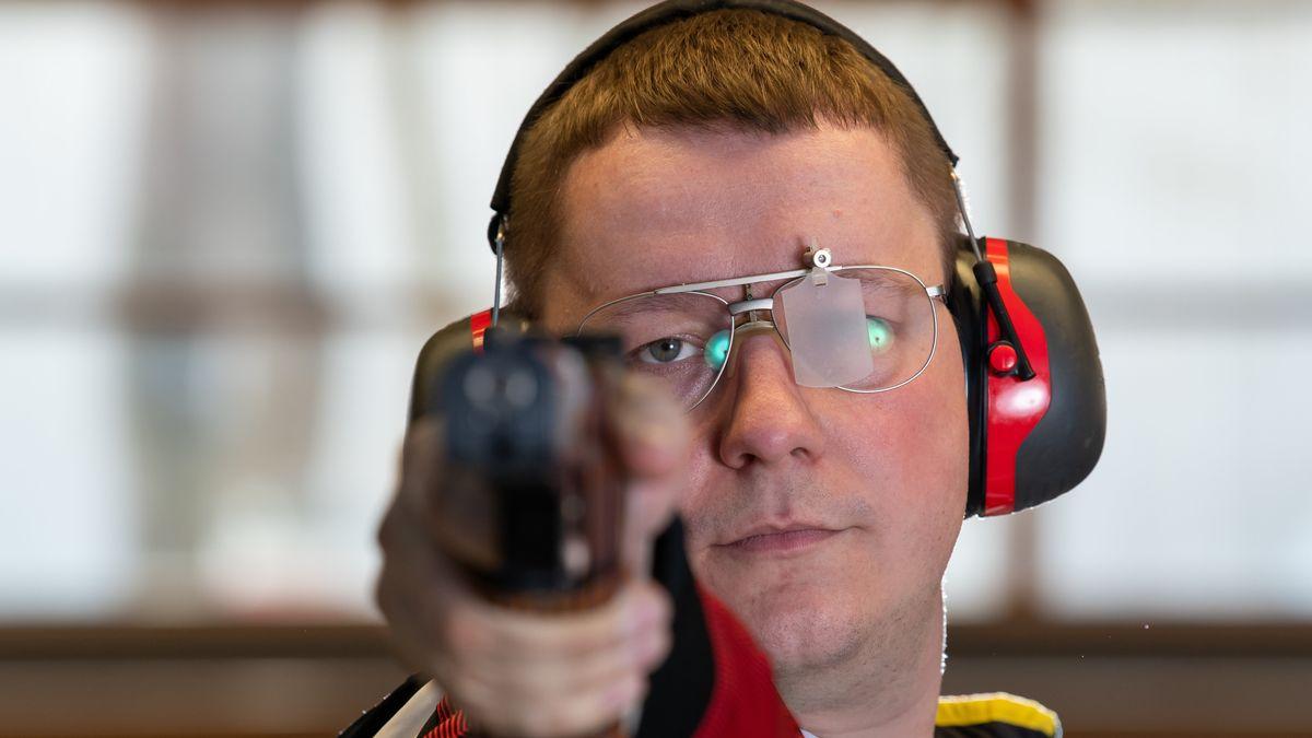 Schütze Christian Reitz aus Regensburg hat Medaillenchancen