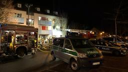 Großeinsatz in Ankerzentrum Bamberg | Bild:News5