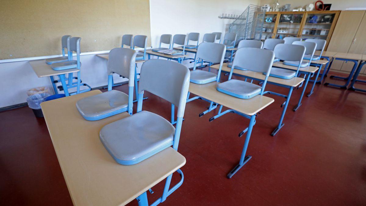 Ein leeres Klassenzimmer (Symbolfoto)