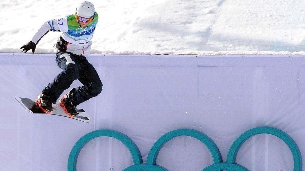 Snowboarder Konstantin Schad
