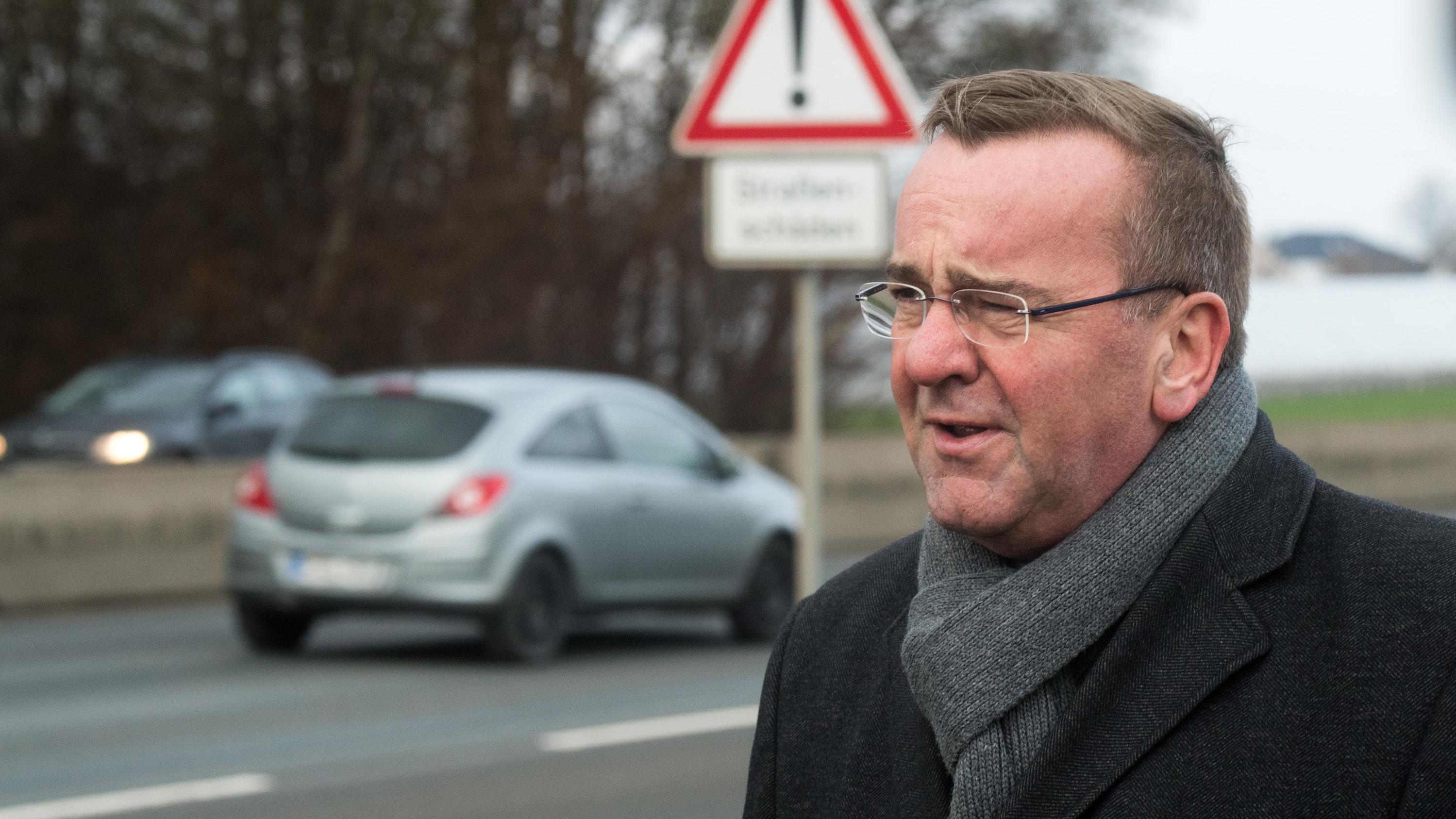 Boris Pistorius (SPD), Innenminister von Niedersachsen