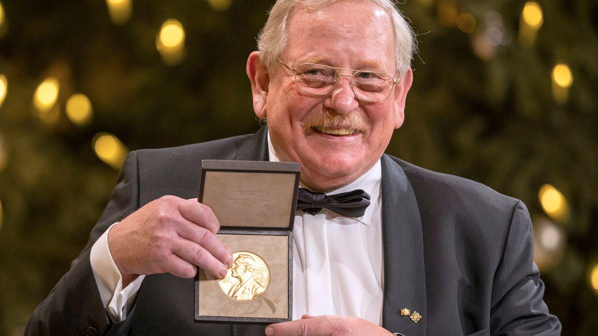 In München nahm heute der Astrophysiker Reinhard Genzel den Physik-Nobelpreis entgegen.