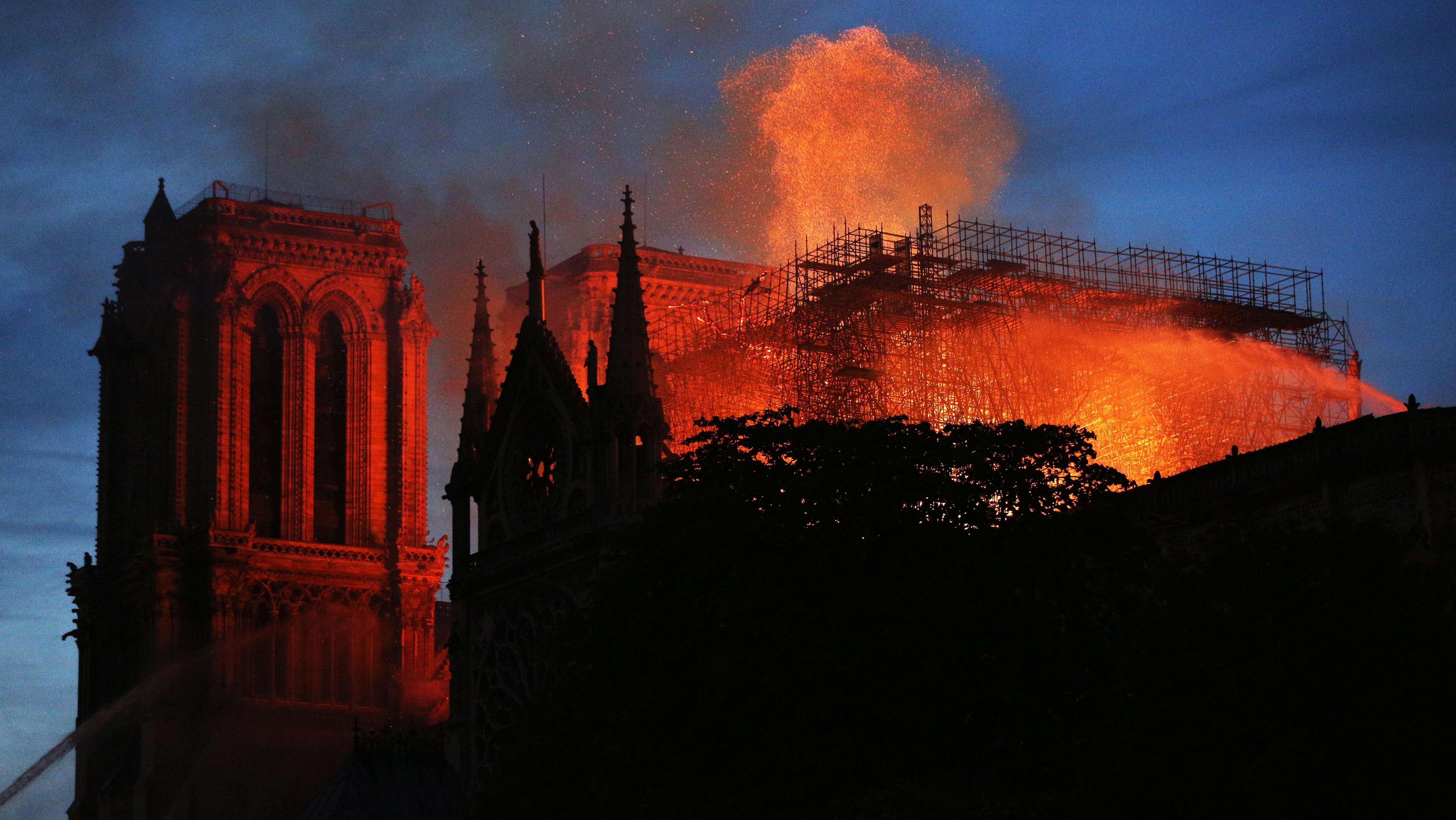 Der Brand in Notre-Dame