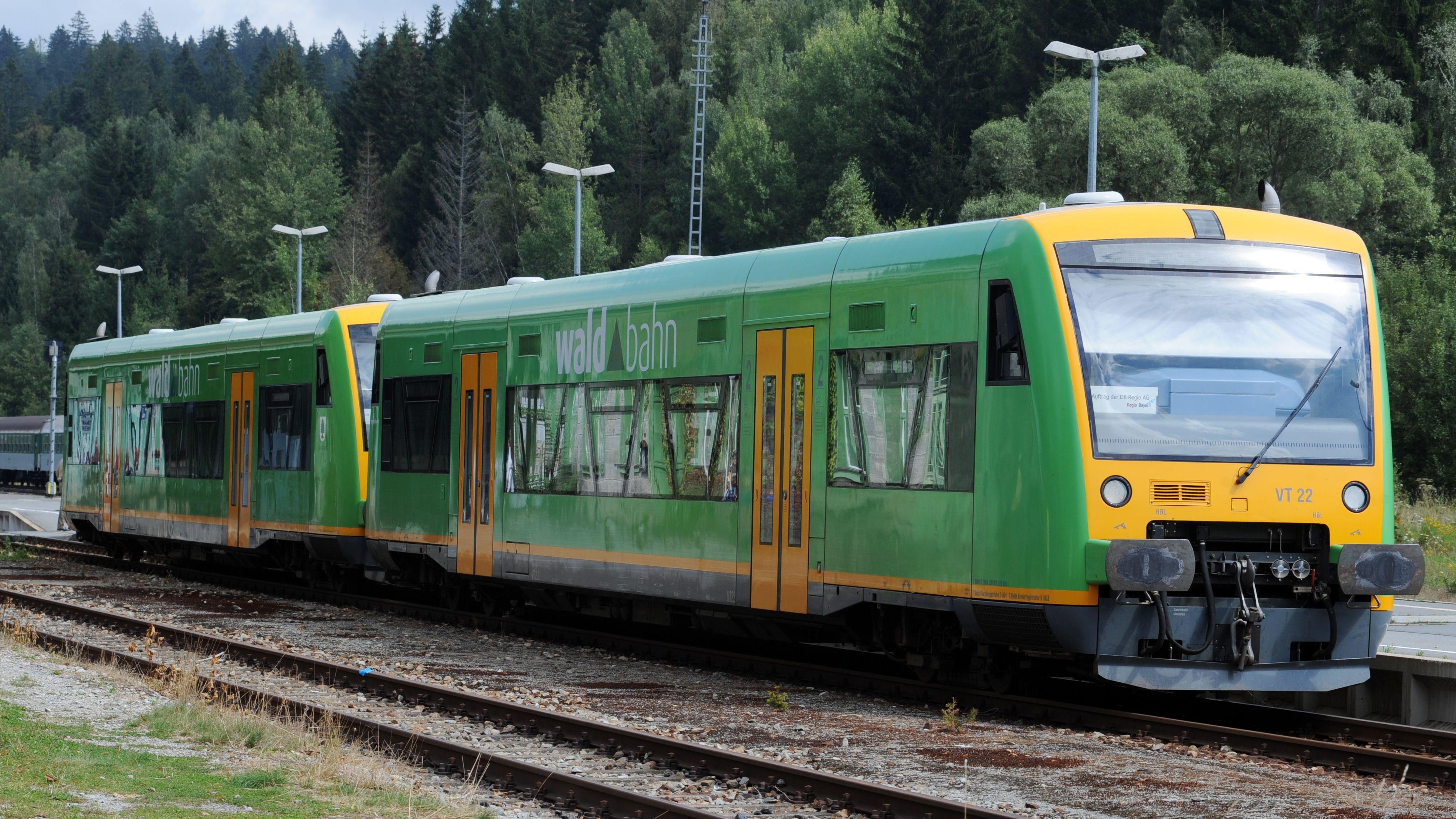 Diese Woche fallen die Waldbahnzüge zwischen Zwiesel und Bodenmais wegen wegen Bauarbeiten aus.
