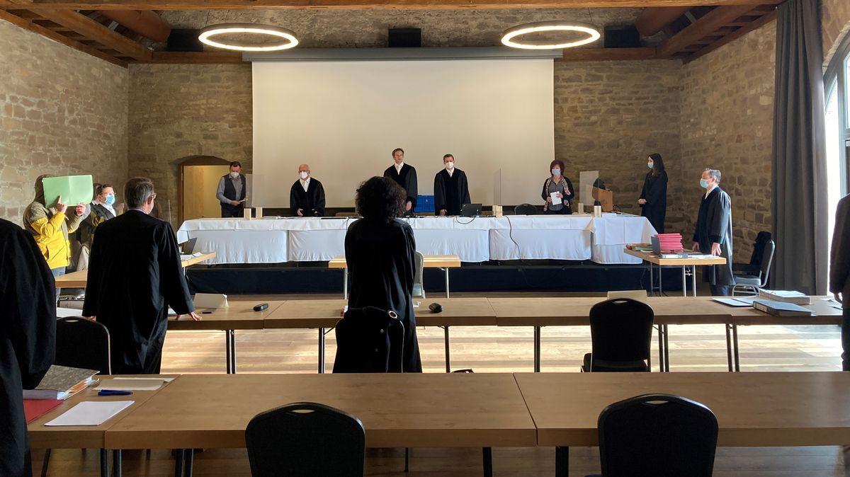 Prozess gegen 31-Jährigen in Würzburg.