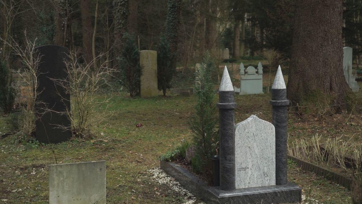 Muslimisches Grabfeld auf dem Münchner Westfriedhof.