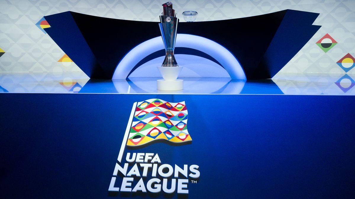 Der Siegerpokal der UEFA Nations League