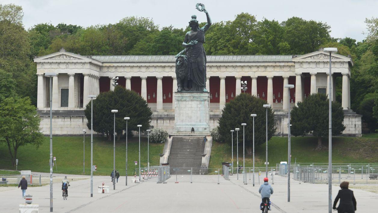 Vor der Ruhmeshalle und zu Füßen der Bavaria ist am Samstag auf der Theresienwiese eine große Demonstration geplant