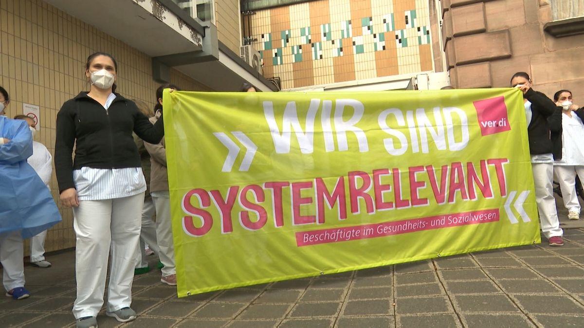 Pausen-Aktion an Nürnberger Kliniken