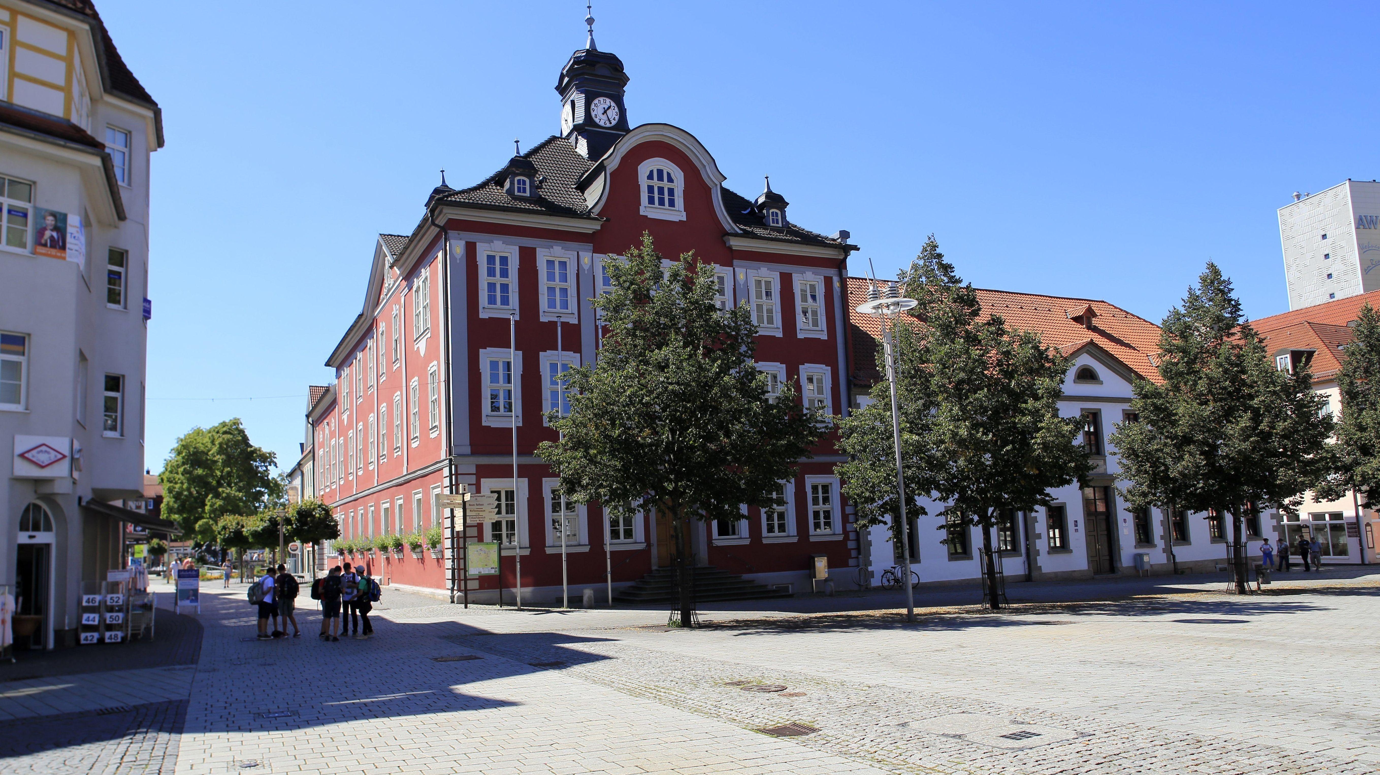 Altes Rathaus in Suhl