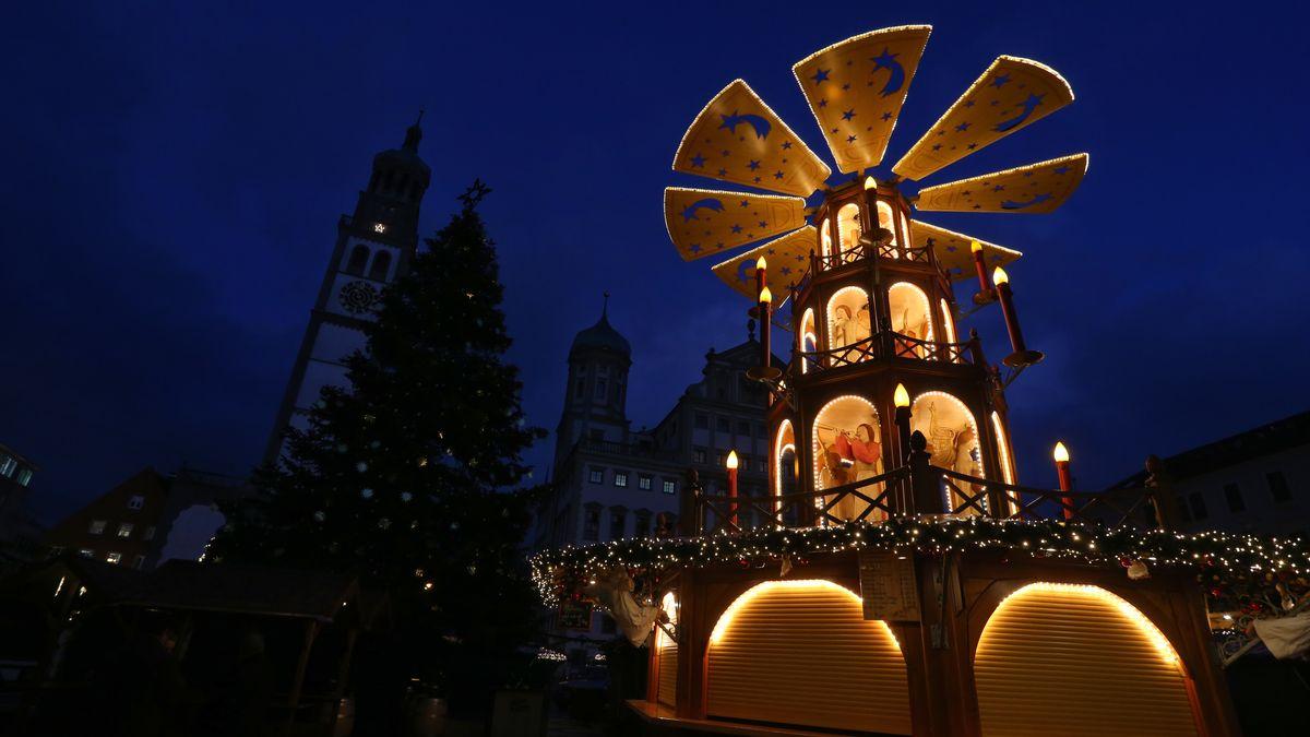 Weihnachtsmarkt in Augsburg