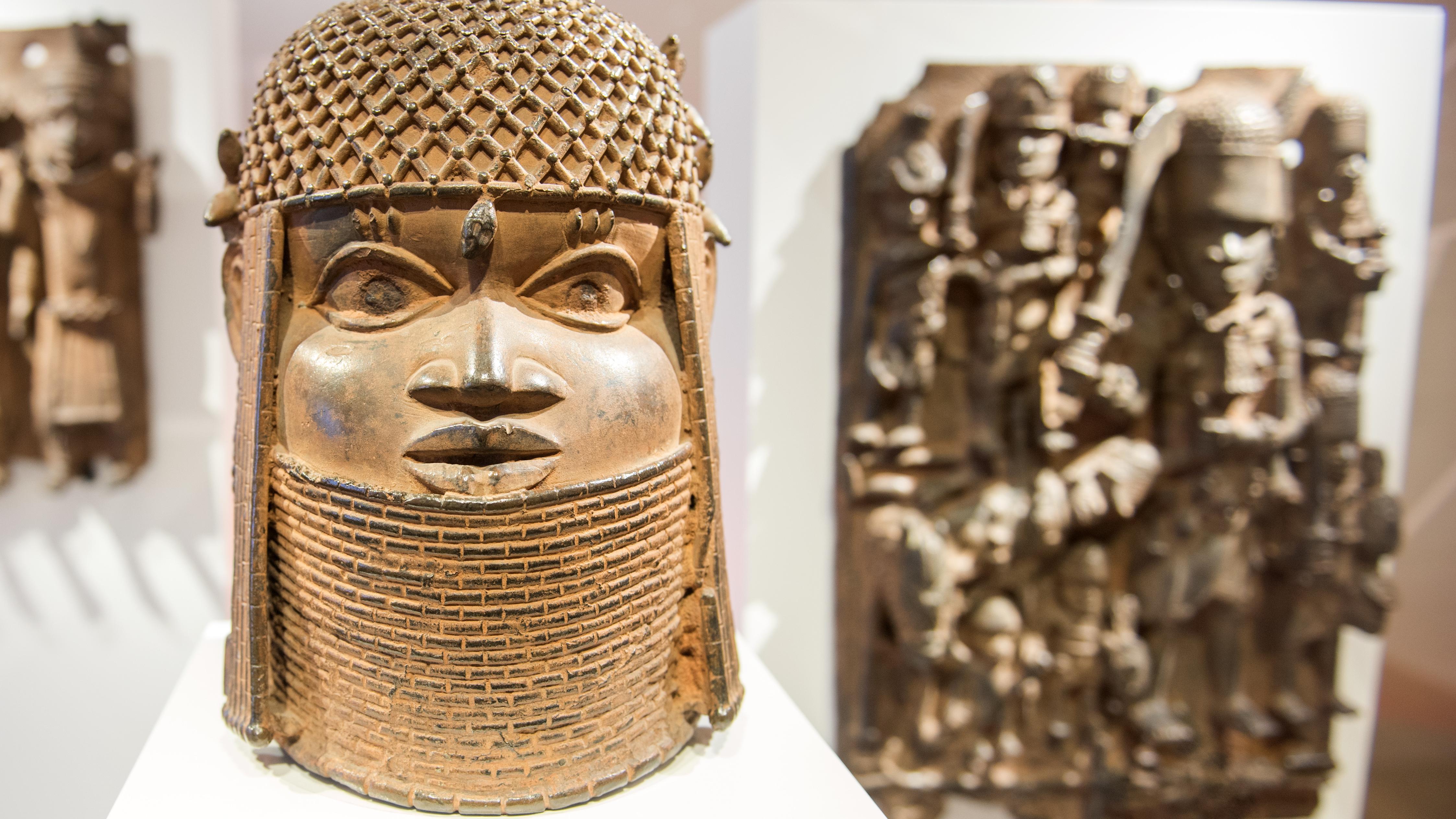 Benin-Bronzen im Museum für Kunst und Gewerbe Hamburg