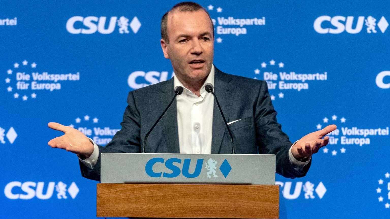 Manfred Weber will keine weitere Gasleitung aus Russland in der Ostsee.