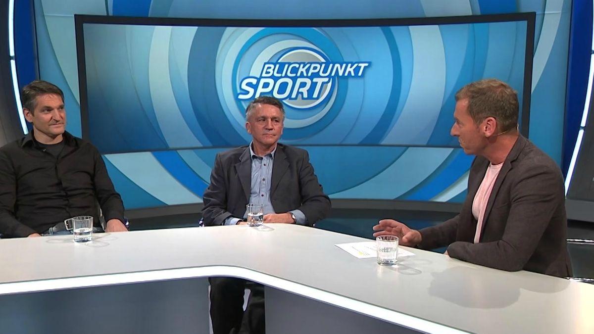Jupp Kapellmann und Dieter Frey zu Gast bei Blickpunkt Sport