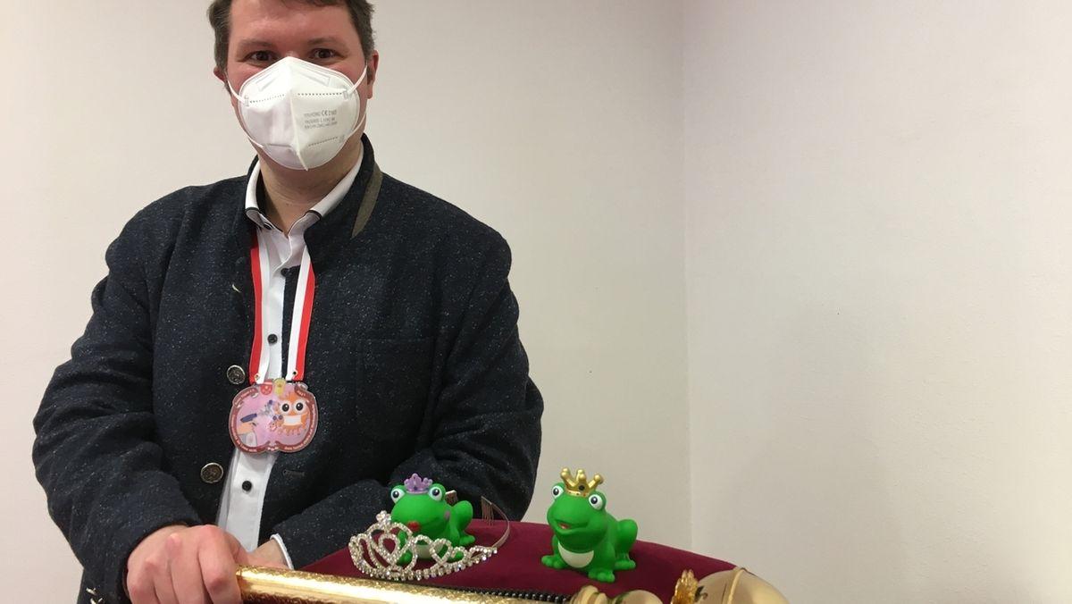Töpens Bürgermeister Alexander Kätzel
