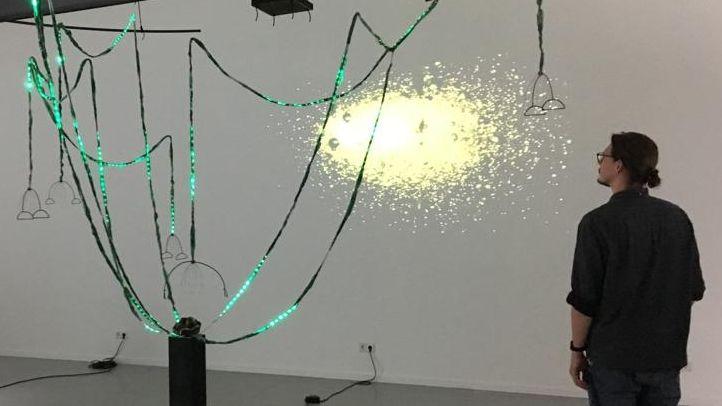 Exponat in der Akademie der Bildenden Künste in Nürnberg