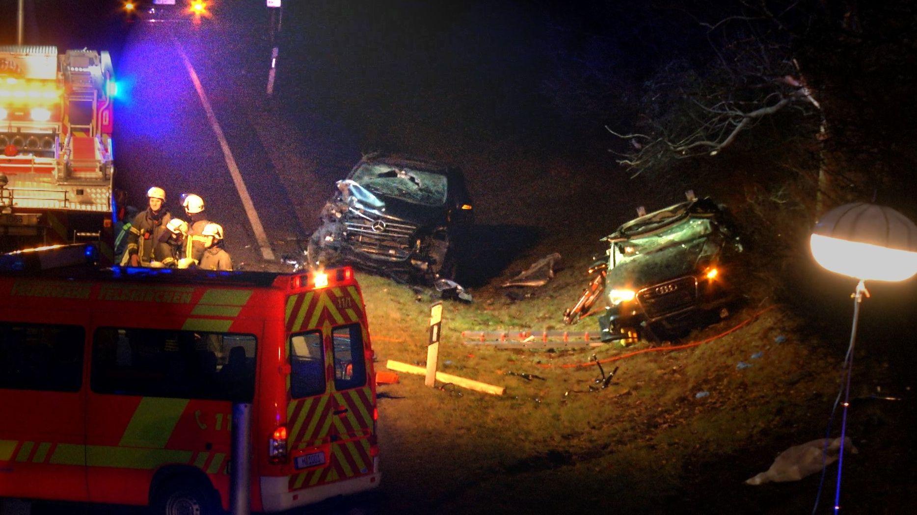 Unfall auf der A99