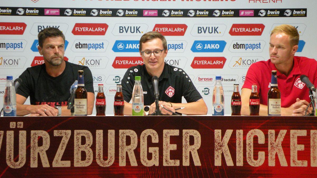 Pressekonferenz der Würzburger Kickers zum Saisonauftakt