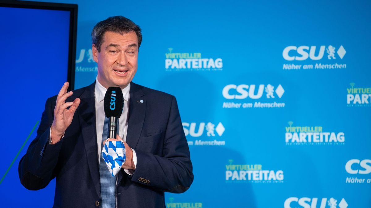 Doch zufrieden mit dem Kabinett: Bayerns MInisterpräsident Markus Söder