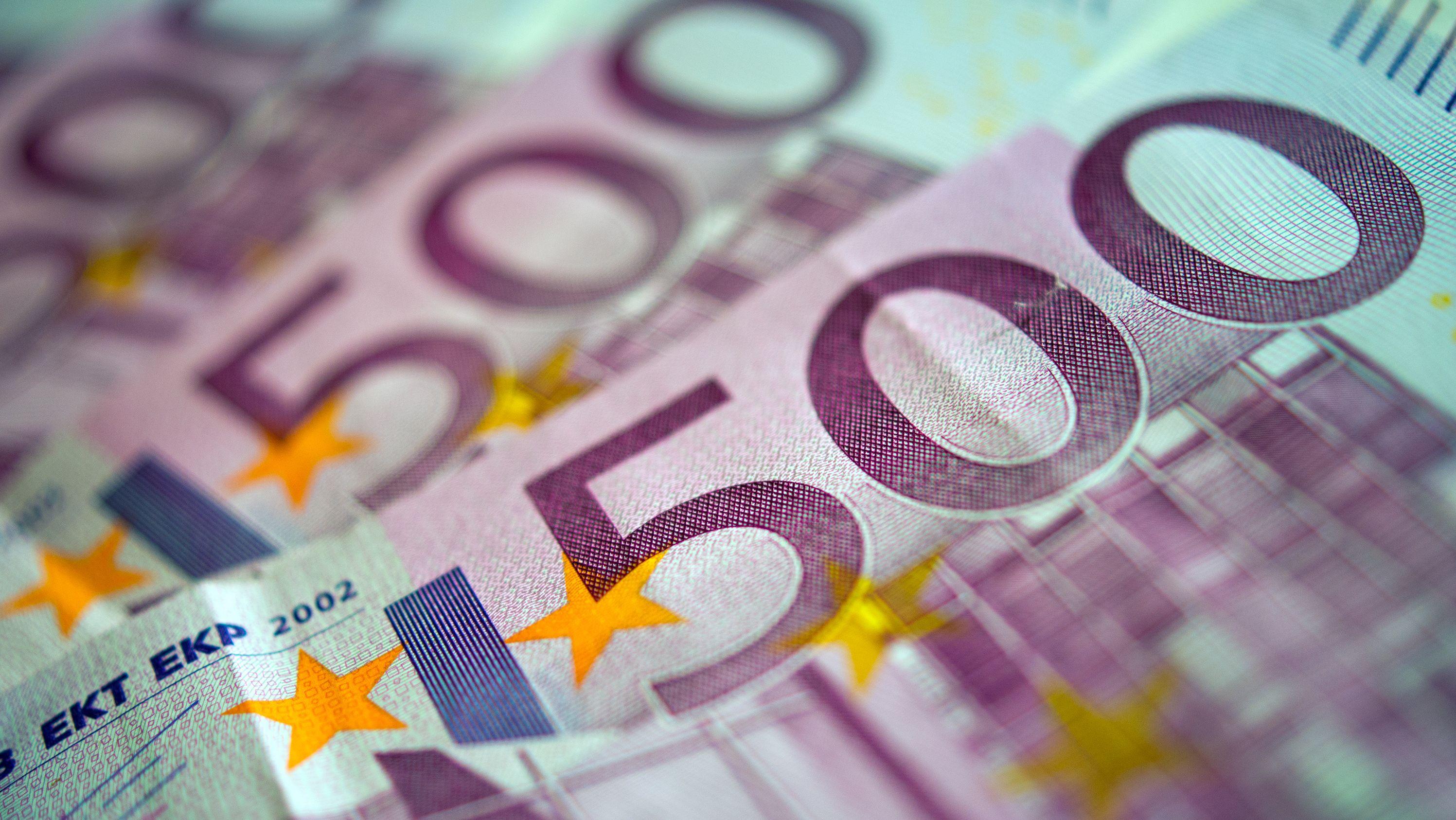 500-Euro-Scheine (Symbolbild)