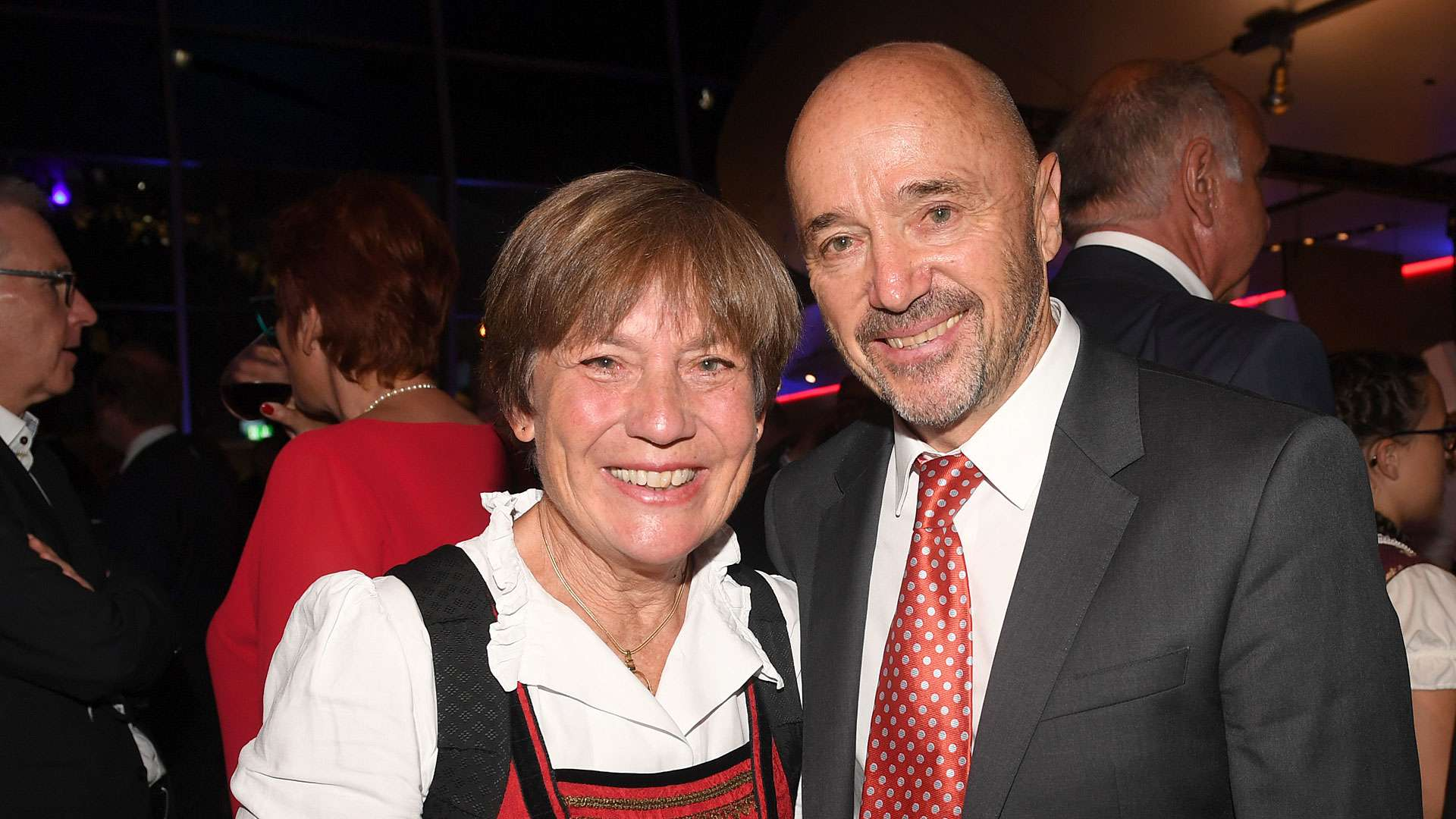 Christian Neureuther mit Ehefrau Rosi Mittemaier