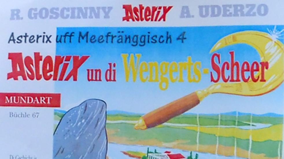 Asterix uf Meefränggisch