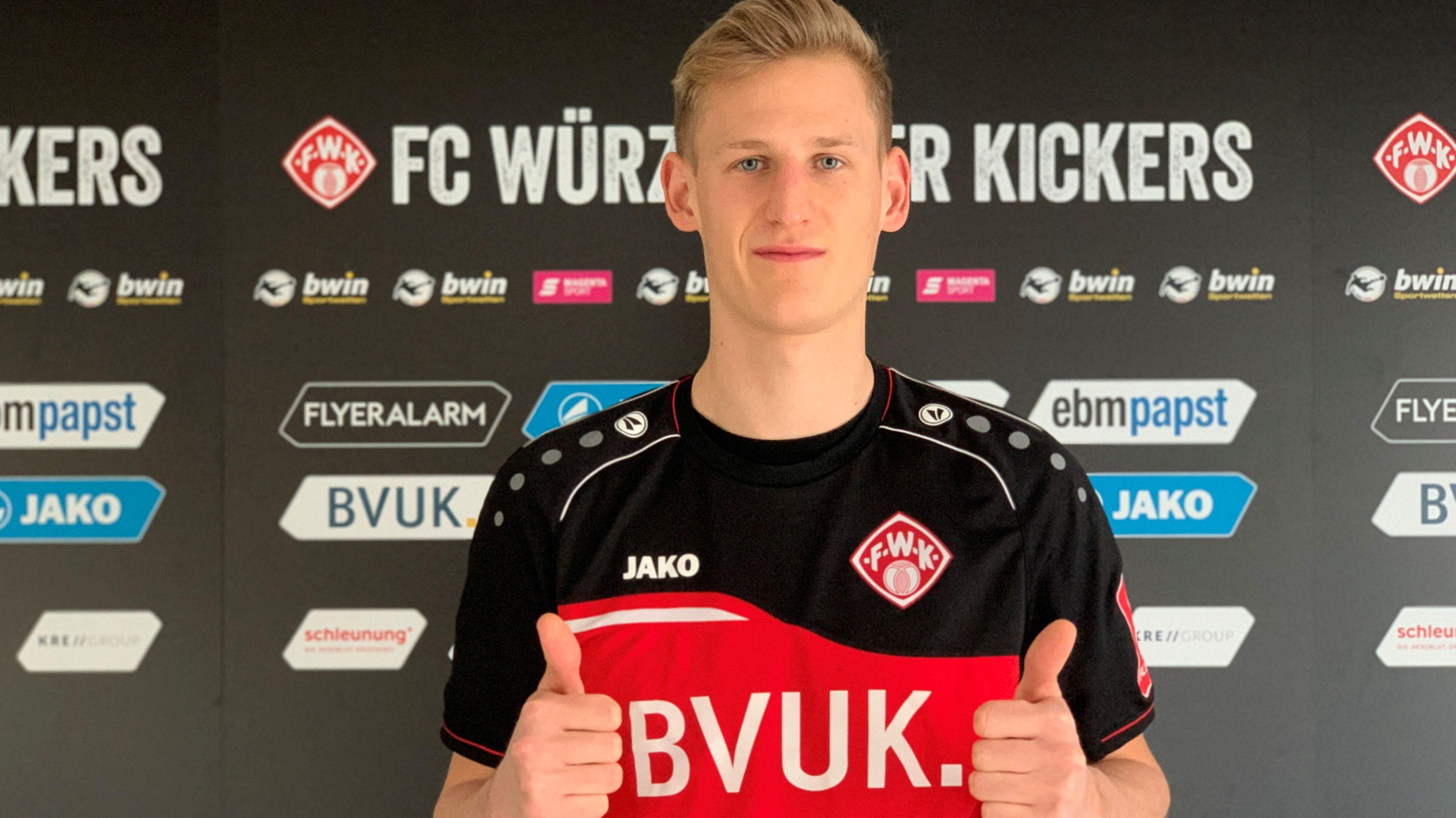 Würzburger Kickers verpflichten Defensiv-Mann vom FC St. Pauli