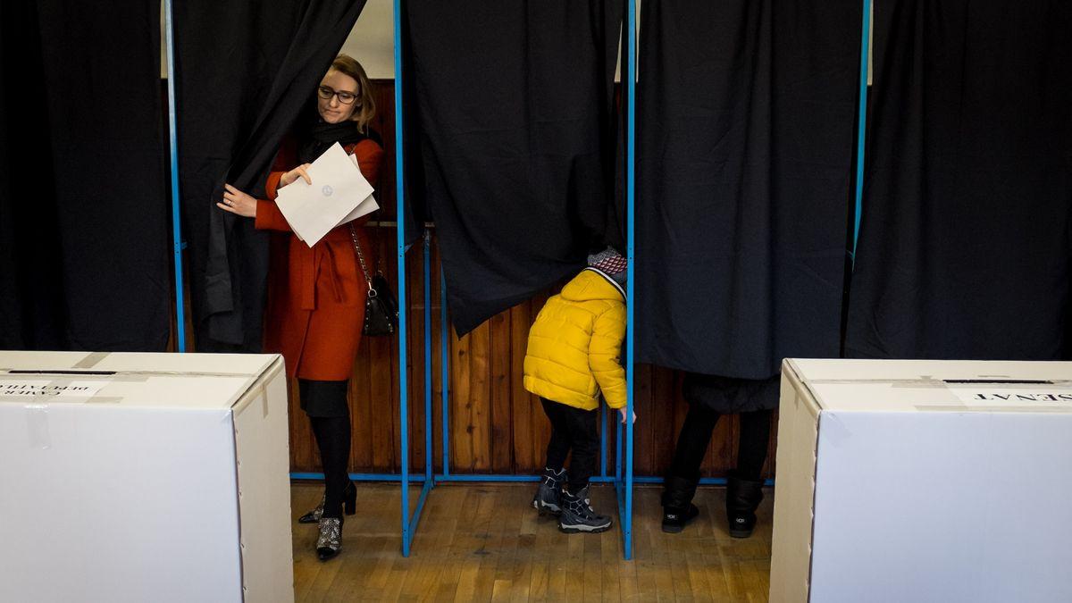Parlamentswahl in Rumänien (Archivbild).