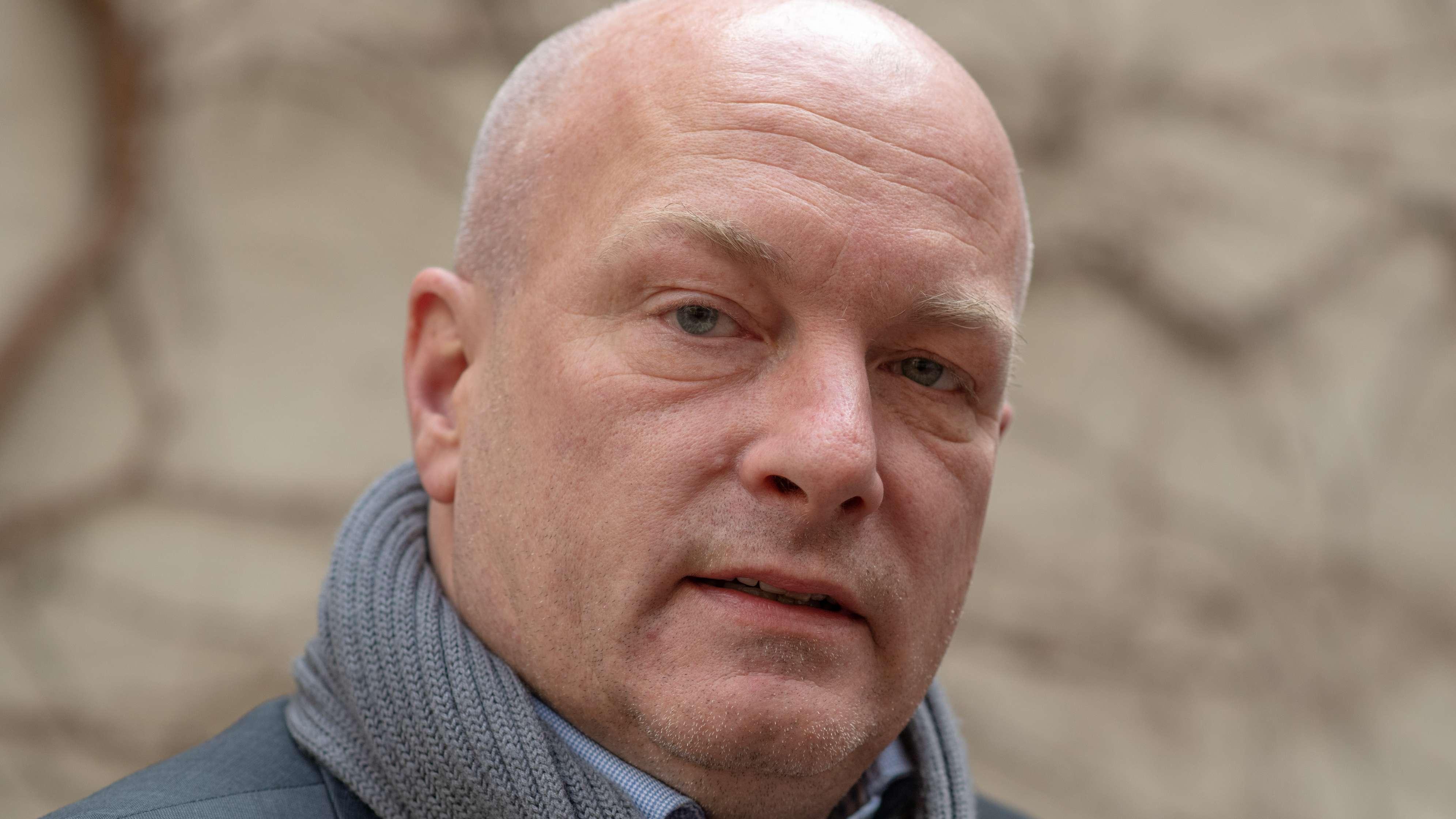 Joachim Wolbergs (SPD), suspendierter Oberbürgermeister von Regensburg.