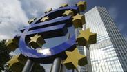 Eurozeichen vor der Europäischen Zentralbank in Frankfurt | Bild:pa/dpa/Hans Scherhaufer