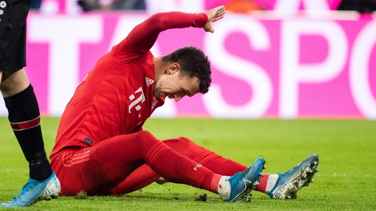 Ivan Perisic vom FC Bayern München reagiert nach einer vergebenen Torchance.