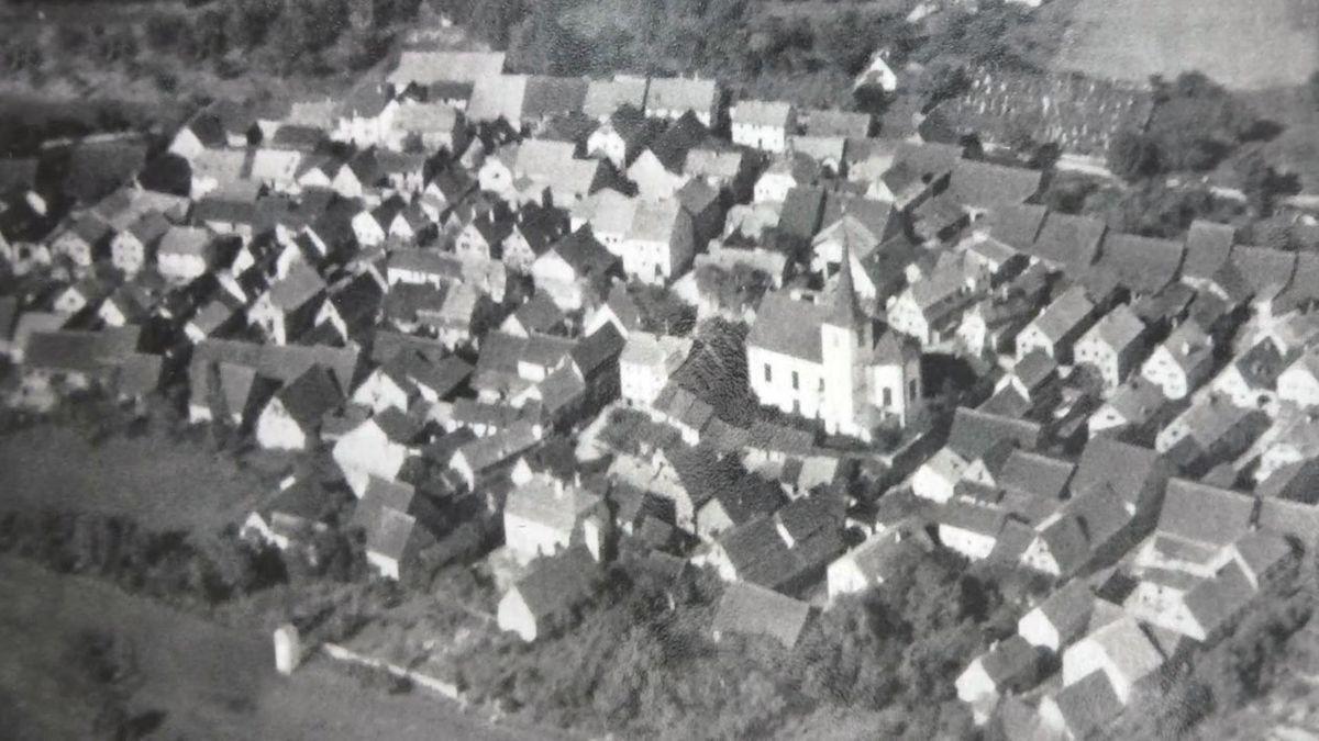 Historisches Luftbild von Hundsfeld