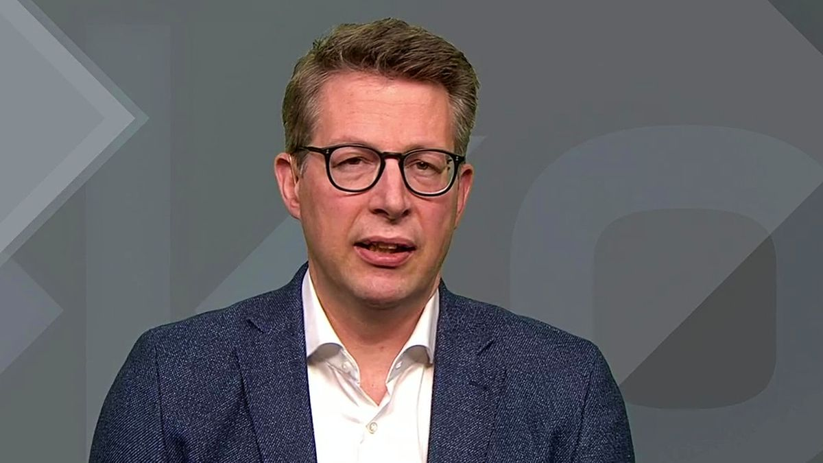 Markus Blume, CSU Generalsekretär, im Interview mit dem BR-Politikmagazin Kontrovers