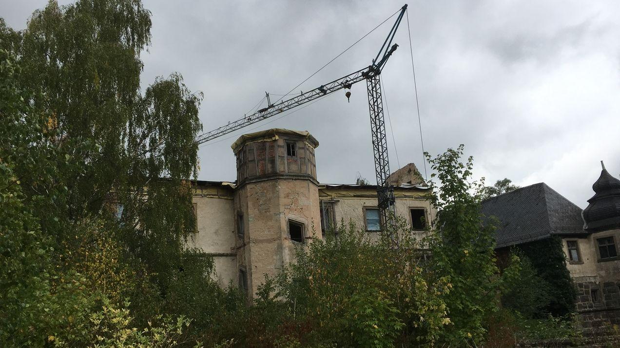 Zehn Jahre nach Brand im Schloss Ebelsbach