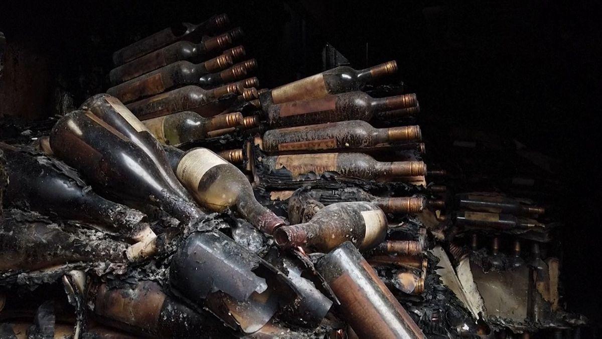 Die Brände haben auch viele Weingüter im Napa-Tal zerstört.