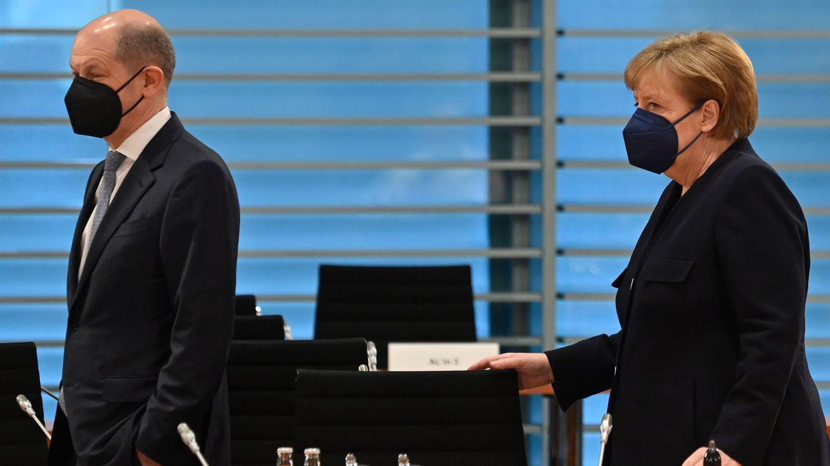 Finanzminister Olaf Scholz (l.) und Bundeskanzlerin Angela Merkel (Archivbild vom 5. Mai)