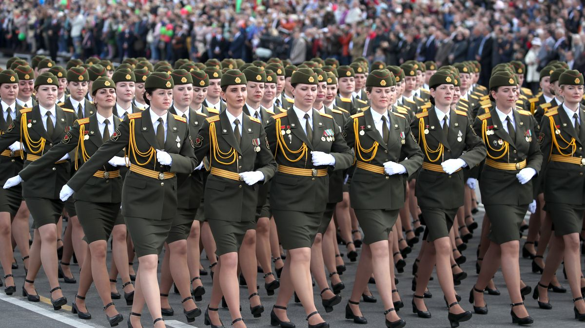 Militärparade in Belarus, 2020