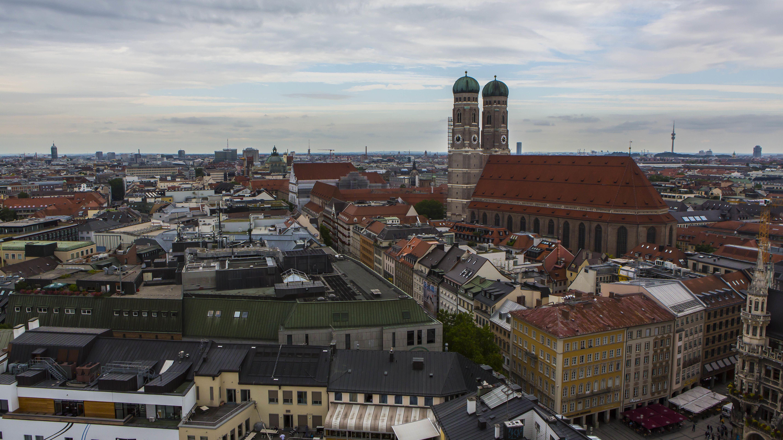 Blick auf den Münchner Liebfrauendom
