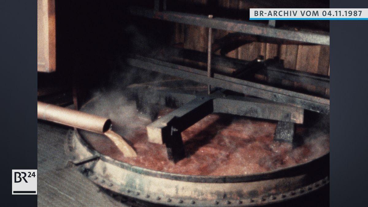 Herstellung von Latschenöl