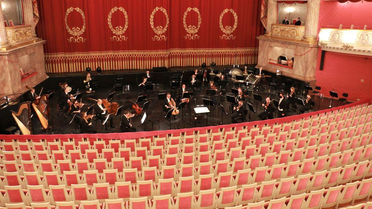 Blick in die Bayerische Staatsoper