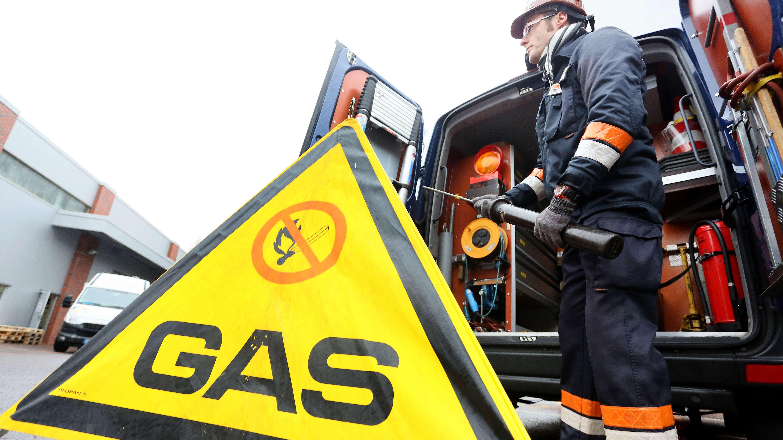 Entwarnung nach Leck in einer Gasleitung