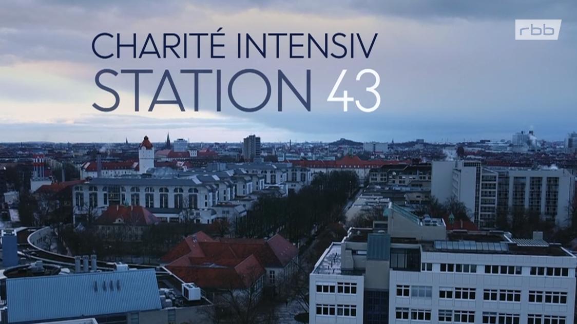 Titelbild der Doku-Serie Charité Intensiv Station 43 vom RBB