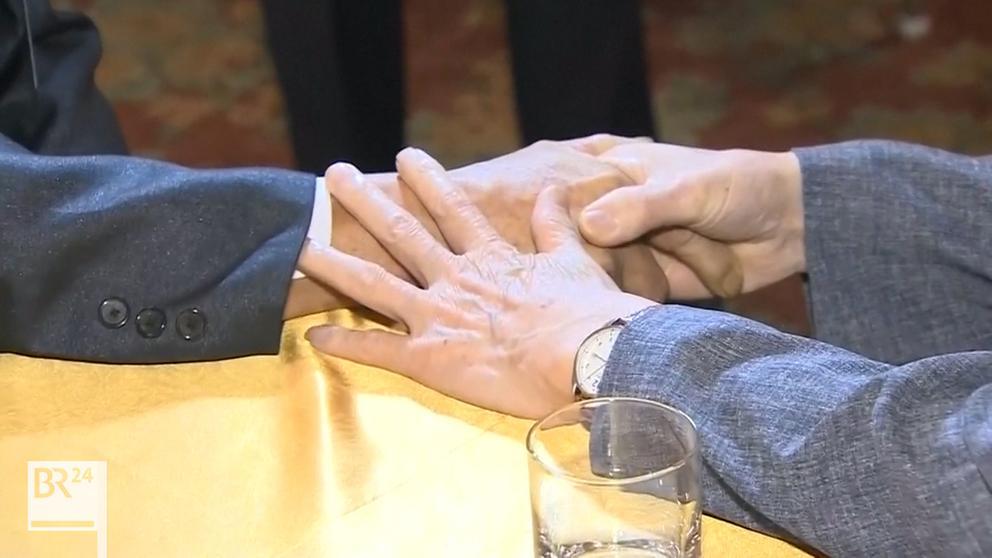 Nordkorea: Treffen im Diamantengebirge   Bild:ARD