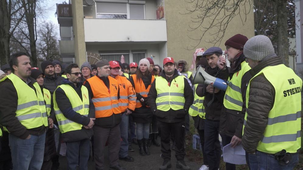 Gersthofer Backbetriebe: Mitarbeiter organisieren Gedenkfeier | Bild:BR