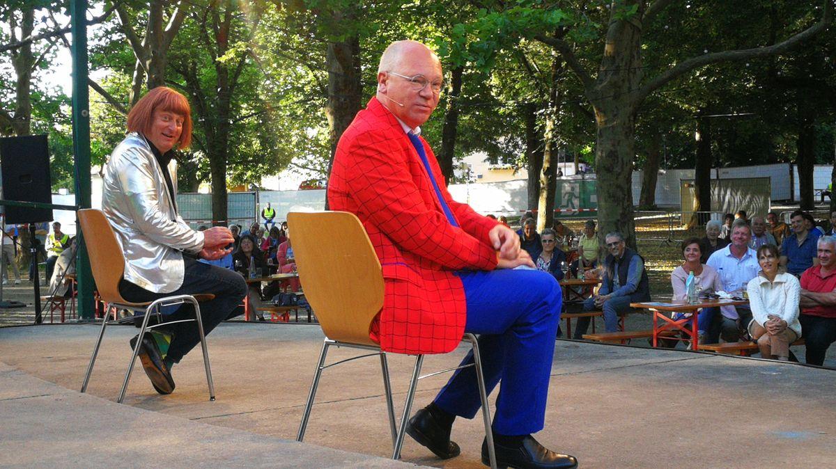 Volker Heißmann und Martin Rassau beim Volkacher Kabarett-Sommer 2020