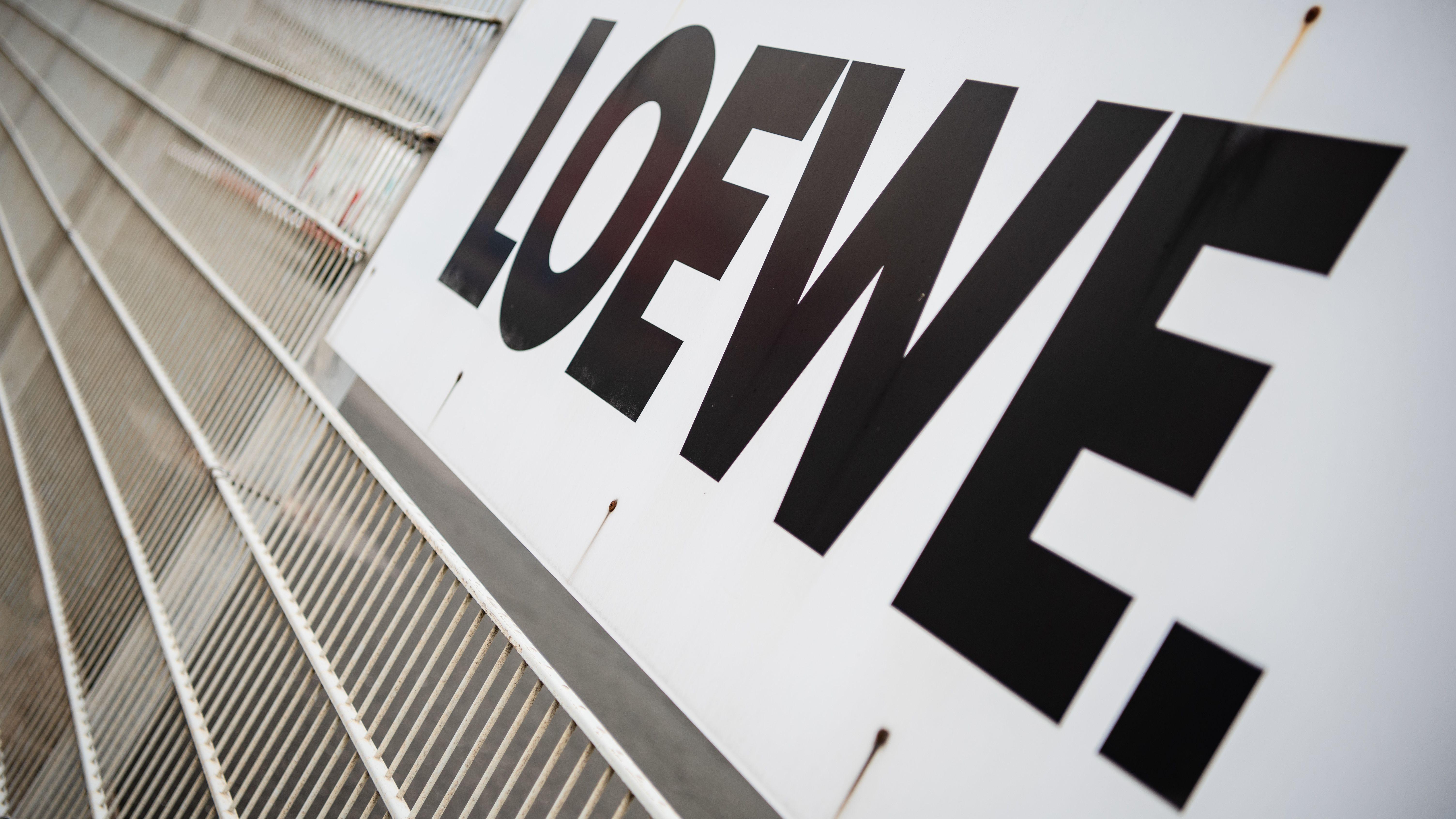"""Am Hauptstandort des Elektronikkonzerns """"Loewe"""""""
