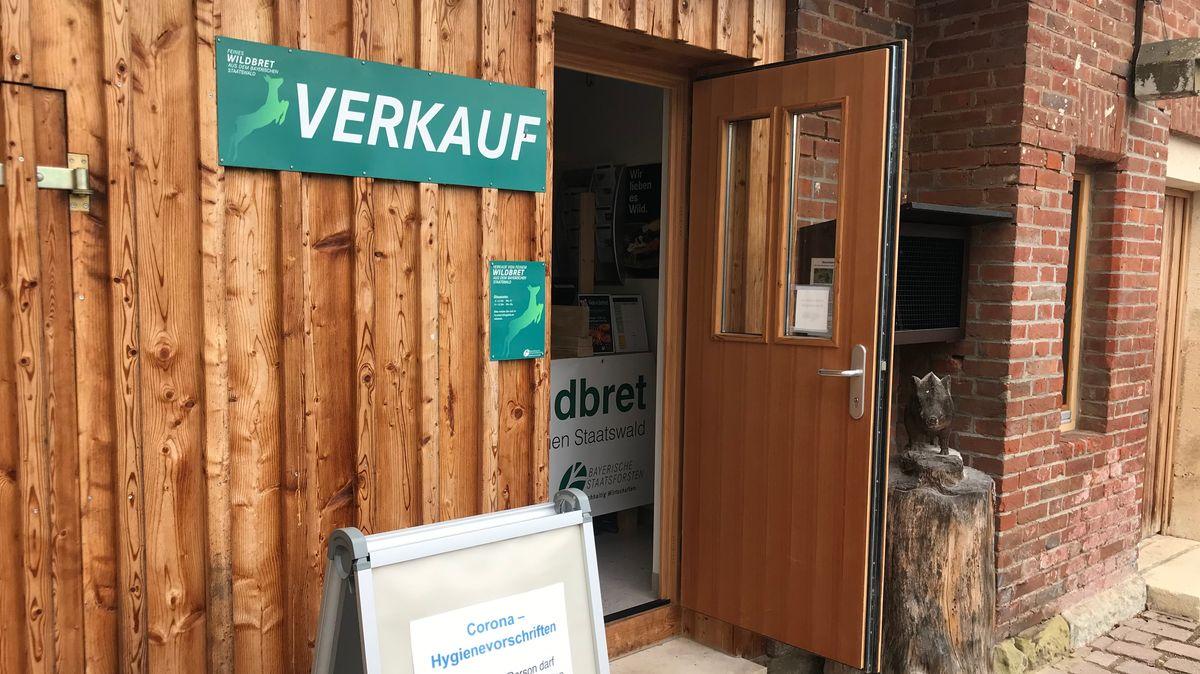 Die Wildbret-Verkaufsstelle der Bayerischen Staatsforsten in Kehlheim