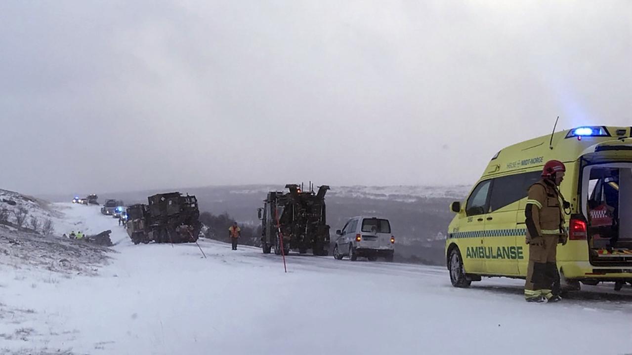 """Nato-Großmanöver """"Trident Juncture"""" in Norwegen."""
